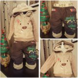 Комплект штанишки+утепленная кофта Mothercare