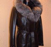 Куртка новая р.50-52 натуральная кожа