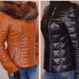 Куртки новые р.42-44,48 натуральная кожа
