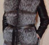 Куртка новая р.40-42 натуральная кожа