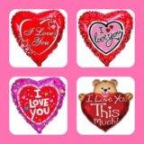 Воздушные шары на день Св.Валентина