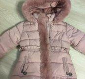 Тёплая куртка. Зима. На 4 года.