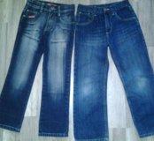 Джинсы Next и MK Jeans 134 см.