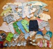 Пакет детских вещей 56-62-68
