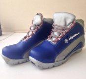 Лыжные ботинки (36 размер)