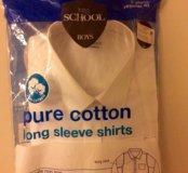 Белая рубашка р.164 новая