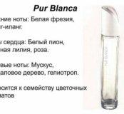Туалетная вода Pur Blanca
