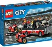 Лего 60084 Перевозчик гоночных мотоциклов