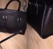 новая stradivarius кожаная сумка