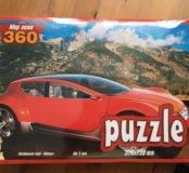 Puzzle,360 деталей (+3)