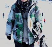 Куртка с мембраной сноубордическая (горнолыжная)
