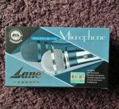Микрофон новый проводной