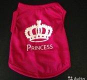 Яркая футболка для маленькой принцессы.