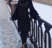 Дубленка женская р-р 40