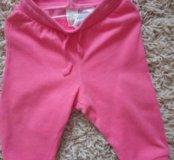 Теплые штанишки фирмы h&m 74 р