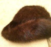 Шляпа женская натуральная норка