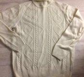 Теплый свитер размер L