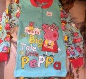 Пижама свинка Пеппа 3 года