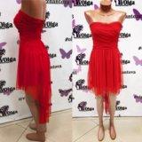 Красное платье 42 размер