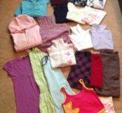 👭Большой пакет одежды на девочку👭-134-140р