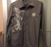 Классная винтажная рубашка,разм М