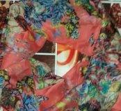 Легкий шарф-палантин