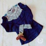Рубашка 👚 на девочку рост 140