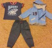 Спортивный костюм mothercare б/у 92+футболка