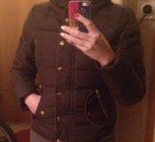 Куртка пуховик в идеальном состоянии