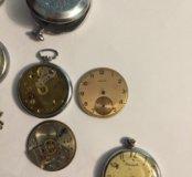 Часы карманные ссср на запчасти
