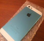 Голубой Корпус iPhone 5S
