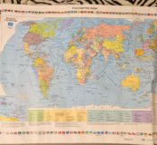 Карта РФ по географии