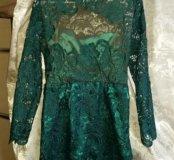 Продам новое шикарное, кружевное платье