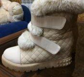 Тёплые зимние сапоги