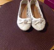 Нарядные туфли для девочки 30р-р