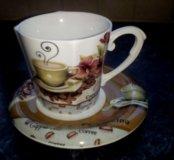 Чайный набор фарфоровый