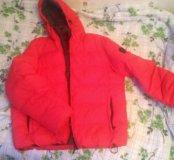 Зимняя оочень теплая куртка, мужская, на резинке