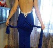 Трикотажное платье р.42-46