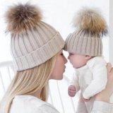Шапки для мамы и малыша