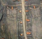 Джинсовая куртка+ джинсы