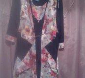 Двойка блуза+ кардиган