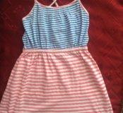 Платье на бретельках для девочки
