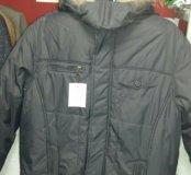 Куртка зимняя мужская 46размер.