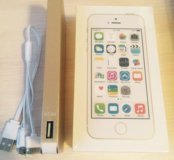 Айфон 5 S32 Гб новый в упаковке +зарядка 50000 mh