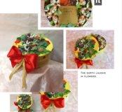 Подарочный набор с конфетами и чаем