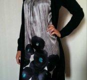 Платье с обманкой М