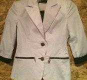Пиджак белый