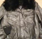 Куртка кожа Италия 42-44 р