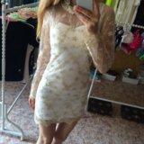 Платье(мини)
