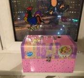 Сундук-коробка для ценностей, украшений